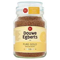 2 Douwe Egberts Pure Gold Instant Coffee Granules, 400g £6.99/each £13.98 @ Costco