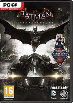[Steam] Batman Arkham Knight  £4.74 (CDKeys With Facebook 5%)