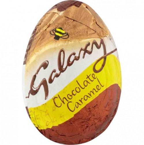 Galaxy Caramel Chocolate Egg 38G Was 39p Now 20p @Poundstretcher