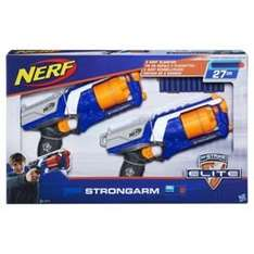Nerf N-Strike Elite Strongarm Blaster Twin Pack, was £26.00 now £13.00 @ Tesco (FREE Click and Collect available)