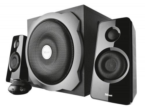 Trust Tytan 2.1 Speaker Set with Subwoofer for PC and Laptop, 120 W Peak Power (UK-Plug) - Black £27.44 @ Amazon