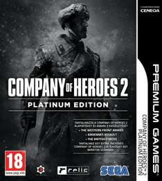 Company of Heroes 2 Platinum Edition only £9.99 @ CDKEYS even less with 5% Facebook discount!