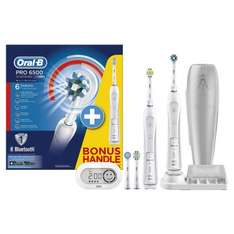 Oral-B Smart Series 6500 Electric Rechargeable Toothbrush - Two Handle Pack  £94.99  Amazon