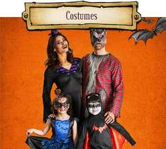 75% off halloween cosutmes decorations props candy instore @ Wilko