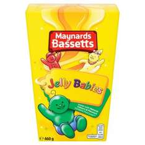 Bassetts Jelly Babies - Liquorice Allsorts - Maynards Wine Gums 460G - £1.50 Each @ Tesco