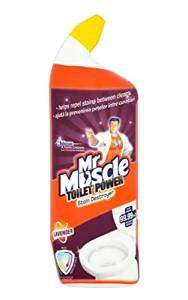 Mr Muscle Toilet Power Liquid Lavender 750 ml (Pack of 8) ONLY £1.78 with Voucher + S&S Amazon