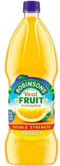 Robinsons Double Concentrate Orange Squash (1.75L) @ Tesco - Half price, was £3.75 now £1.87 from 2nd