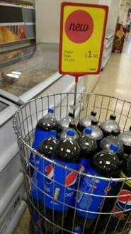 Pepsi or Pepsi max 3L bottles ONLY £1.50 @ Iceland