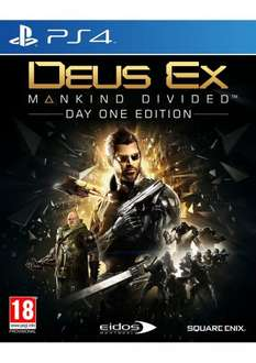 Deus Ex Mankind Divided on PlayStation 4 for £24.85 @ Simply Games