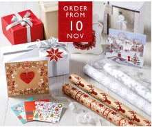 Aldi Christmas Gift Wrap now in stores - 12m for 99p