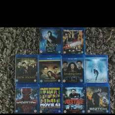 Blurays £1 @ Poundland Southport Central 12 store