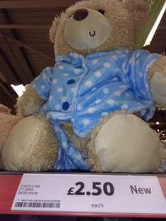 Teddy in Pyjamas - £2.50 Tesco In Store (Plymouth Roborogh)