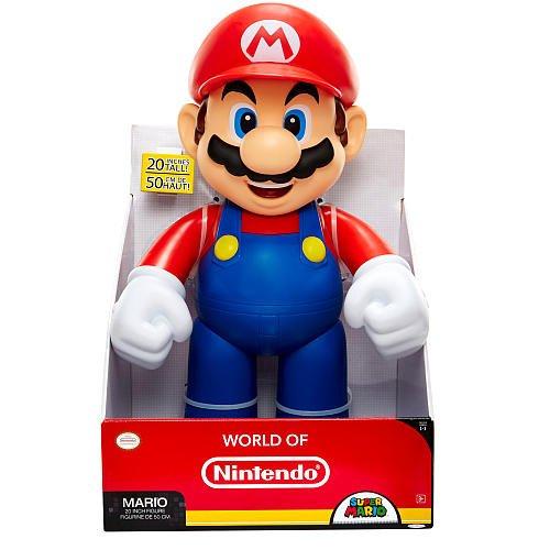 Super Mario 20'' Figure (Fire Mario also available) £19.99 @ Smyths