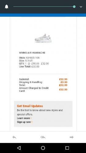 ladies nike white huarache £32 Cheshire oaks nikeoutlet