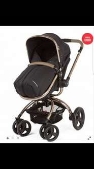 Orb Pram and Pushchair - Liquorice Canvas £329 @ Mothercare