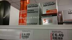 L'Oreal Men Expert Hydra Energetic moisturiser and Thermic Resist deodorant twin pack £4.99 at Savers, moisturiser alone well over £6!