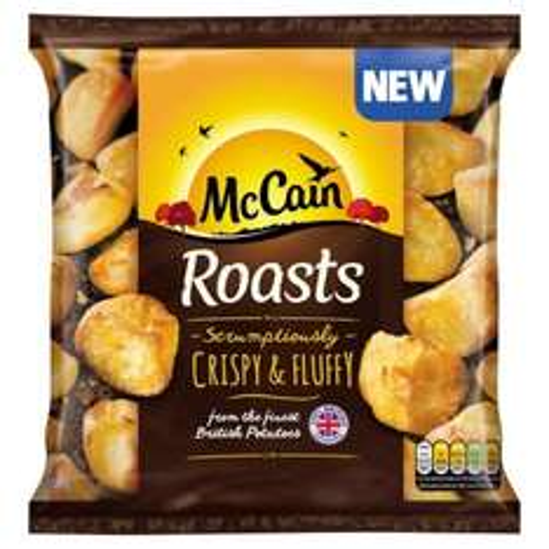 McCain Roasts (800g) was £2.00 now £1.00 (plus 100% cashback from Mysupermarket) @ Ocado
