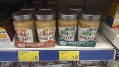 Whole Earth peanut butter - 340g crunchy & smooth £1.89 - B&M