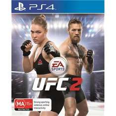 PlayStation Plus Double Discounts including UFC 2 for £21.99! PS Store