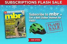 MBR Magazine Subscription with Free Bell Stoker Helmet £22.49 @ Magazines direct