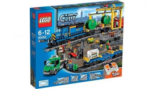 Lego cargo train 60052 BACK IN STOCK £84.97 @ Asda
