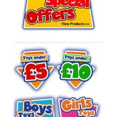 toys under £5 @ Bargainmax - delivery starts at £2.99