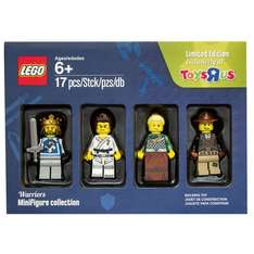 Free pack of 4 LEGO minifigures when you spend £45 on LEGO at Toys R Us