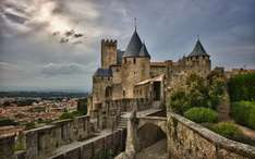 Carcassonne, France break for two from Manchester (14 - 18.11) £243.40 including return flights, hotel and car hire booking.com