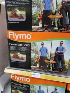 Flymo Powervac 3000 for £34 @ Morrisons (instore only)