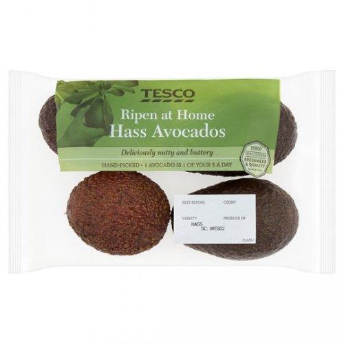 Tesco Ripen At Home Avocados - 4 Pack £1.50 @ tesco (instore & online)