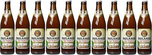 10 x 500ml Paulaner Hefe-Weizen Natural Wheat Beer £11.95 @ Amazon