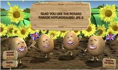 Go on, put a super-smashing smile on someone's face with www.potatoparade.co.uk!