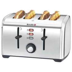 breville stainless steel toaster £29.99 Tesco direct. was £59.99