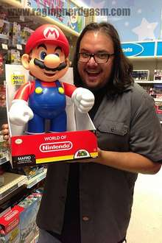 """Super Mario 20"""" figure £15 houseoffraser"""