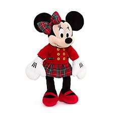 **Glitch** Medium Soft Toys £10 + Free Personalisation on 600 Items + Add Medium Personalised Festive Minnie or Mickey (£20.99 each) for £9.99 (should be able to add just 1, but can add upto 10 for £9.99 each) @ Disneystore