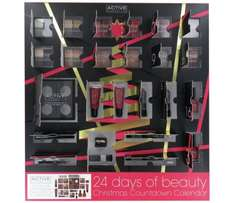 24 Days of Beauty Advent Calendar was £29.99 now £9.99 so better than half-price @ Argos