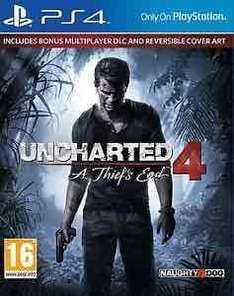 Uncharted 4: A Thief's End Launch Edition PS4 £26.99 @ shopto / eBay