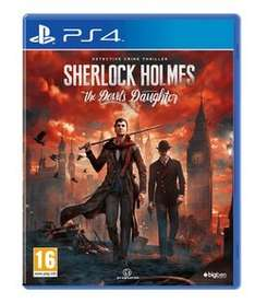Sherlock Holmes: The Devil's Daughter NEW (Xbox ONE and PS4) £19.99 @ Game