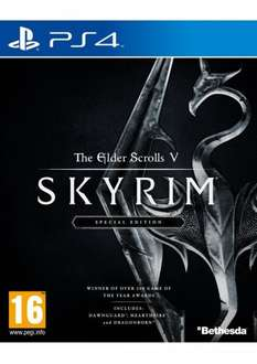 SKYRIM REMASTERED £32.85 BOTH XBOX ONE & PS4 @ Simply Games