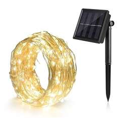 Ankway Solar String Lights £8.99 prime / £12.98 non prime Sold by Ankway and Fulfilled by Amazon
