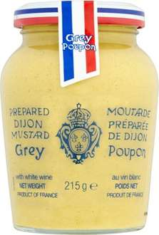 Grey Poupon Dijon Mustard 215g was £1.39. now 92p @ Waitrose