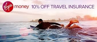 10% off Virgin Money Travel Insurance with virginred