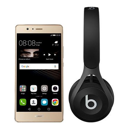 Huawei P9 lite Gold or Black + Beats EP Headphones Was £169.99 ! Now £179.99 (minimum top up increased to £20)  @ EE