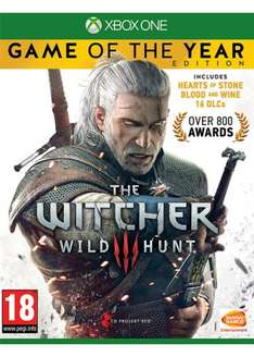 [Xbox One] The Witcher 3 Wild Hunt - Game of the Year Edition - £22.99 - Base