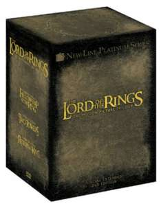 The Lord of the Rings Trilogy USED (Extended Edition Box Set) £6.19 @ Music magpie / ebay