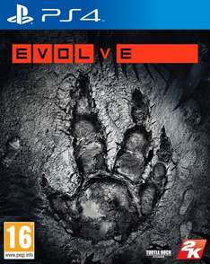 Evolve (PS4) £8.66 prime / £10.65 non prime Sold by TECH SENSE and Fulfilled by Amazon