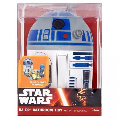 Star Wars R2D2 Bathroom Tidy with Shower Gel & Flannel – Half Price £3.00 – online / instore @ Tesco