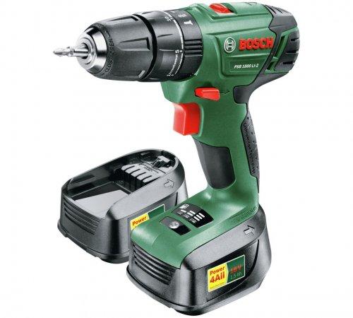 Bosch PSB 1800 18V Li-Ion Hammer Drill with 2 Batteries £69.99 @ Argos