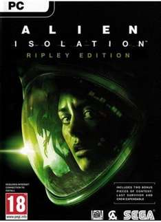 Alien Isolation: Ripley Edition for PC £5.69 with 5% off code @ CD Keys
