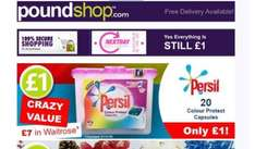 Persil 20 colour protect capsules for £1 @ Poundshop